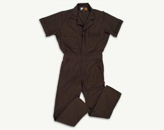 Vintage Coveralls Workwear •Vintage Mechanic Jumpsuit Uniform • Big Ben by Wrangler • Vintage 1970s • Men's M/L