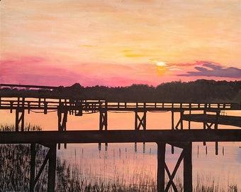 Katrina's Sunset Print
