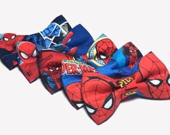 Spiderman Boys Bow Tie,  Bow Ties For Boys, Spiderman Comic, Spiderman Bow Tie, Spiderman Bow, Mens Bow Ties, Marvel Bow Tie