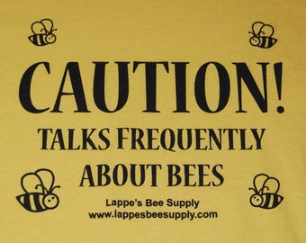 Caution! Beekeeping T-shirt