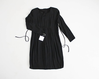 90s black dress | gothic dress | dark romantic dress