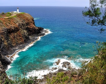 Fine Art Photo, Kileau Lighthouse, Kauai, Hawaii (IDHIA6048)
