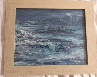 "Abstract Art ""Ocean love"""