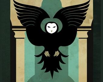 Guardian of Knowledge - Legend of Korra inspired illustration