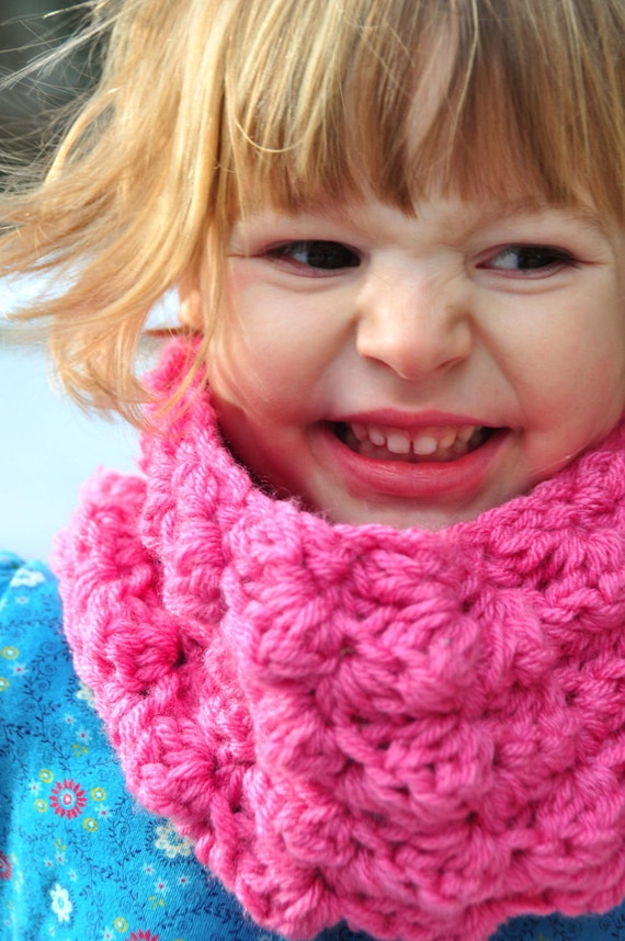 Children S Scarf Pattern Crochet Sedge Stitch Cowl Pdf