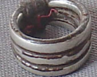 old tribal siver Moroccan ring