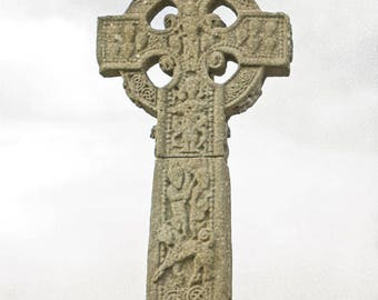 High Cross, Drumcliff Ireland, Irish Photography, County Sligo, Wall Art, Celtic Cross, Fine Art, 8 x 10 Photo, Art Print, 5 x 7 Photo