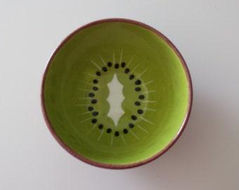 Handpainted Kiwi Bowl