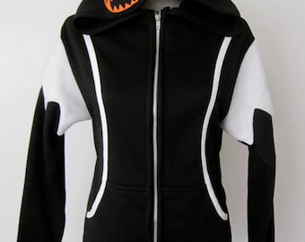 Kingdom Hearts Halloween Town Cosplay Costume Sora Hoodie Jacket