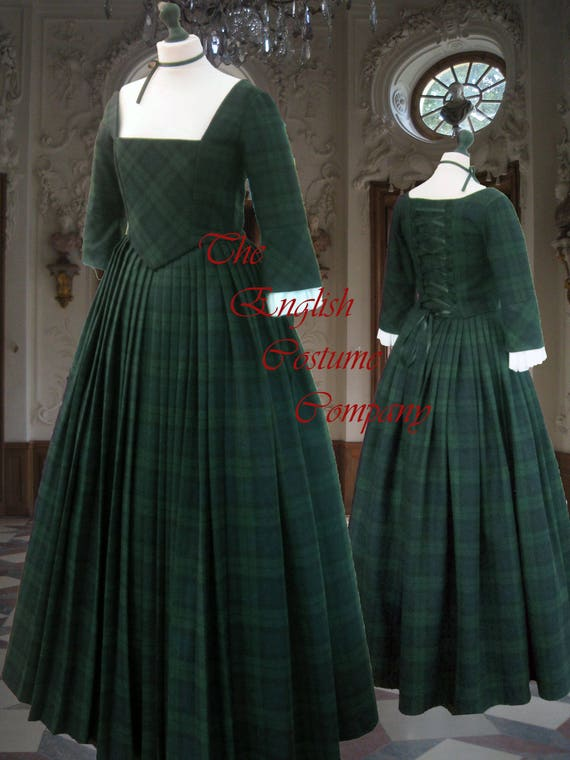 Outlander Claire Fraser style gown