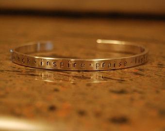 Teachers bracelet