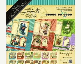 ON SALE Graphic 45 Deluxe Collector's Edition A PLace in Time Paper Kit