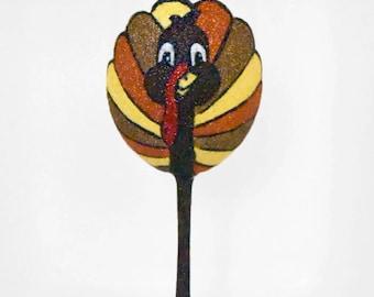 Thanksgiving Turkey Wine Glass