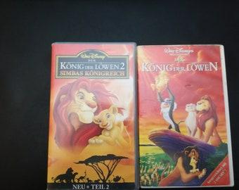 Walt Disney VHS King of Lions Part 1 and 2 rar