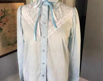 Vintage women's western shirt