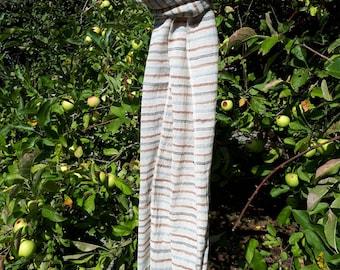 Bio organic cotton scarf