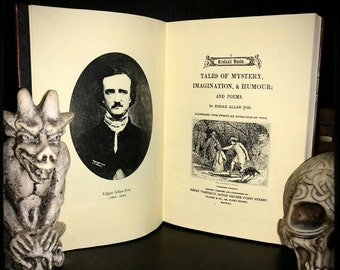 Tales of Mystery, imagination, Humor and Poems - by Edgar Allan Poe - Riproduzione edizione 1851