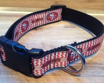 SAN FRANSICO 49ers Adjustable dog collar