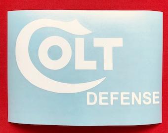 Colt Defense Logo Vinyl Decal