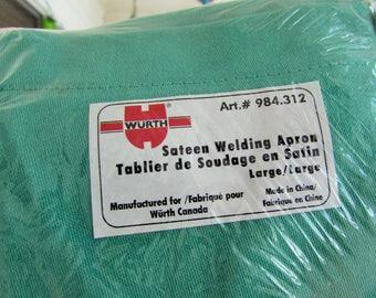 new sateen welding apron, large