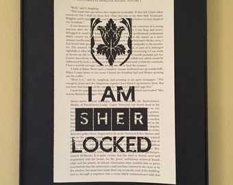 I am Sherlocked Page Art; Sherlock Holmes; Sherlock