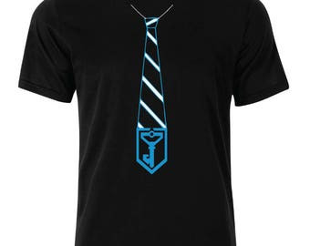 Ingress Resistance Tie Logo  T-Shirt - available in many sizes and colors