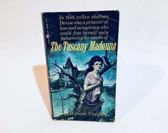 Vintage Gothic Romance Book The Tuscany Madonna by Miriam Canfield 1965 Paperback