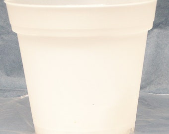 Clear Plastic Teku Pot for Orchids 4 inch Diameter - Quantity 1
