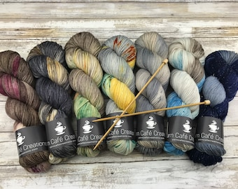 Complete Adulting 2018 Collection | 700 g. | Hand-Dyed Yarn | 85 Superwash Merino Wool/15 Nylon
