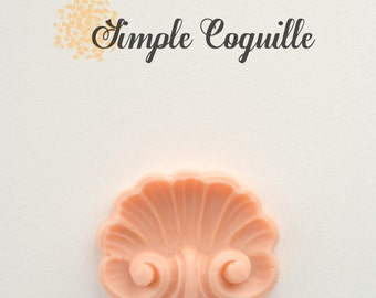 Silicone Mold Simple Coquille (Shell)