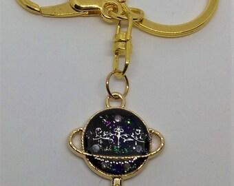 Saturn Key Charm