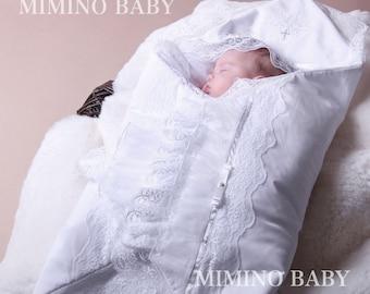 IZABELLA christening blanket