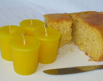 CORNBREAD (4 votives or 4-oz soy jar candle)