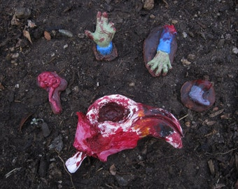 Zombie Gnomes: The Body Parts Expansion Pack