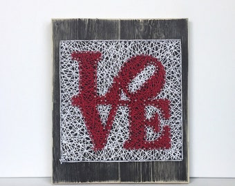 Love Sign - Philly Love Park Sign - Valentines Day gift