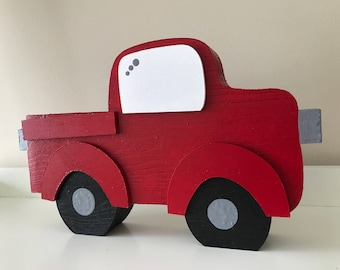 Wooden Truck \\ Kids Room Decoration