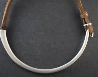 Necklace - Boho minimalist elegant wrap around necklace