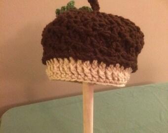 Acorn hat infant to child
