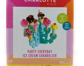 Handmade Charlotte Kids- Party Everyday, Moon Light-box DIY- Make Your Own