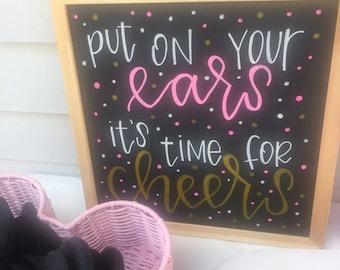 Custom Hand Lettered Chalkboard - Birthdays, Parties, Weddings