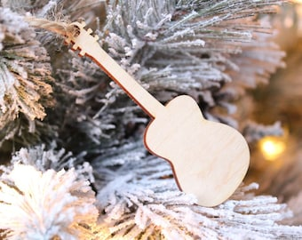 Guitar Ornament   Free Shipping   Musician Gift