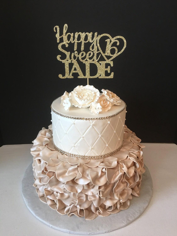 Sweet Sixteen Cake Pics Cake Recipe