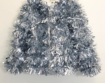 "The ""Party People"" Tinsel Jacket"