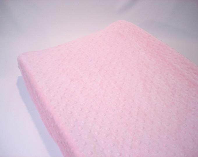 Pink Changing Pad Cover Blush