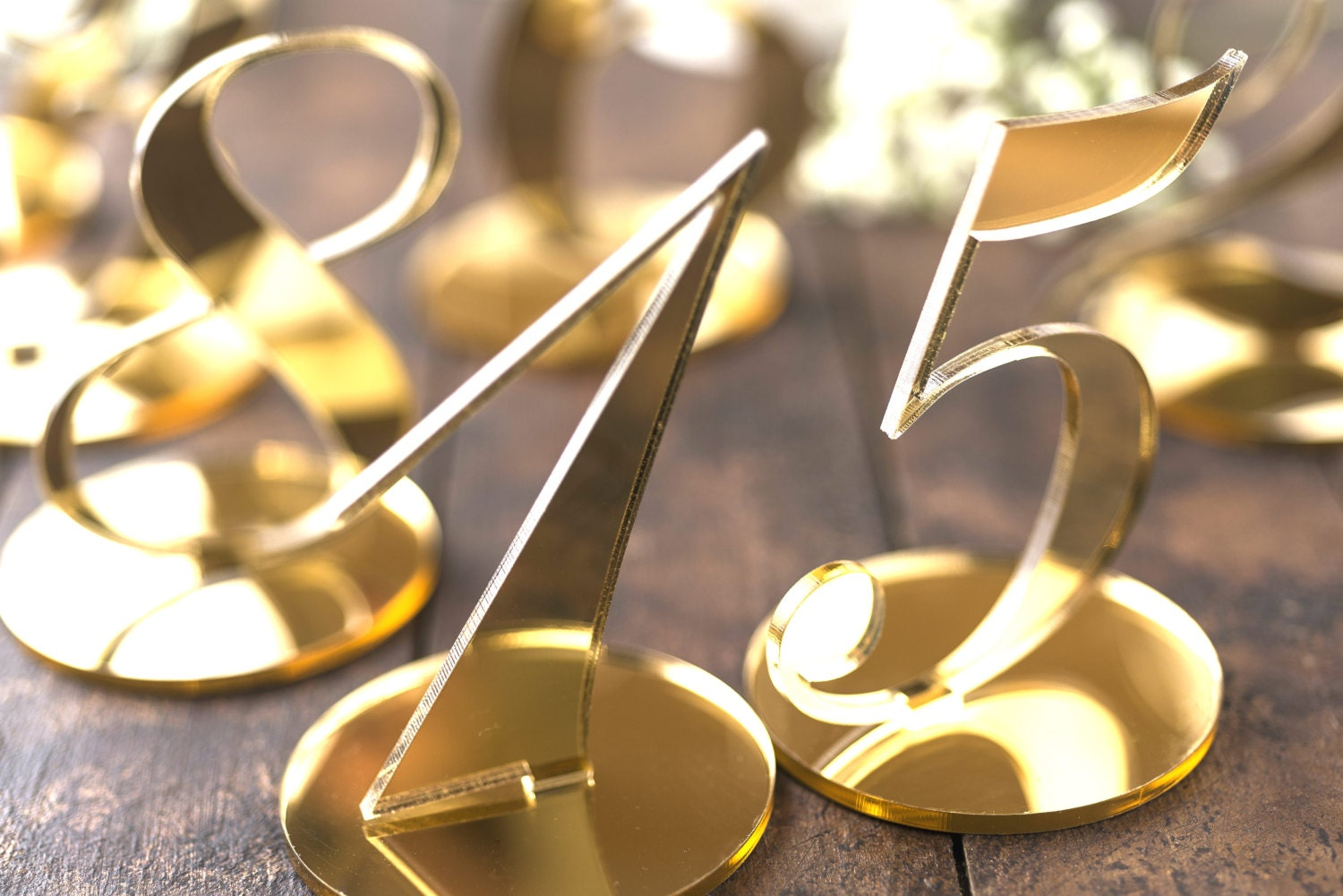a469c22d2545 5x7 Gold Frames Table Numbers The Best Of 2018