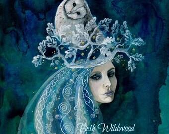 White oak healing