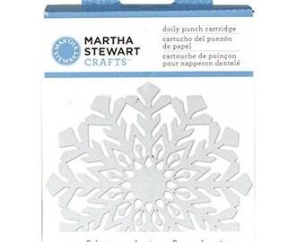Martha Stewart Doily Punch - Snowflake cartridge