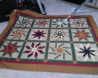 It's a scrappy quilt top