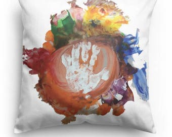 Your Child's Art, on a Pillow! Many Sizes Available. Perfect Gift for the Little Artist in your Life! Christmas is Coming!