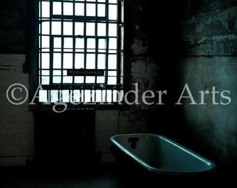HYDROTHERAPY ROOM - The Beauty of Decay - Alcatraz prison San Francisco, California Instant digital download photo original art photography
